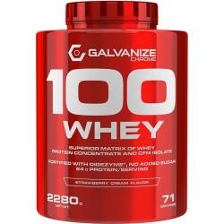 100 Whey protein 2280 g...